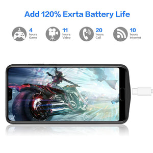 Best Huawei P20 Pro 6000 MAH Battery Case - Free Next Day Delivery