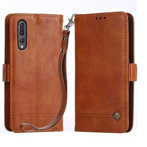 Best Huawei P20 Pro Retro Leather Case - Free Next Day Delivery