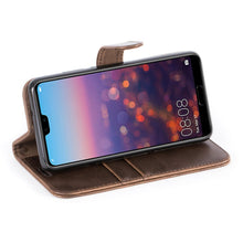Load image into Gallery viewer, Best Huawei P20 Vintage Leather Case - Free Next Day Delivery