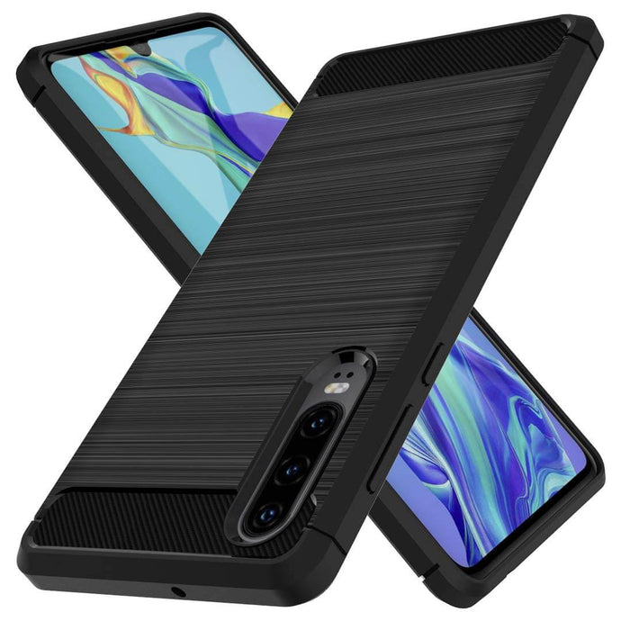 Best Huawei P30 Carbon Fiber Case - Free Next Day Delivery