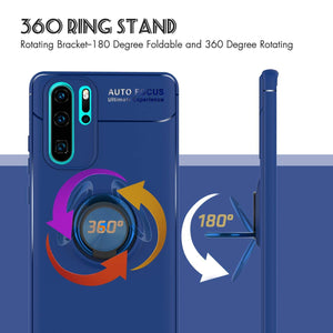 Best Huawei P30 Pro Metal Ring Case - Free Next Day Delivery