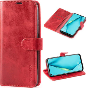 Huawei P40 Lite Case Leather Wallet