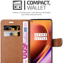 Load image into Gallery viewer, OnePlus 8 Case Leather Wallet