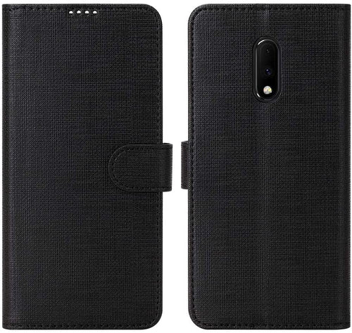 OnePlus 8 Pro Case Leather Flip