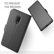 Load image into Gallery viewer, Best OnePlus 6T Leather Case - Free Next Day Delivery