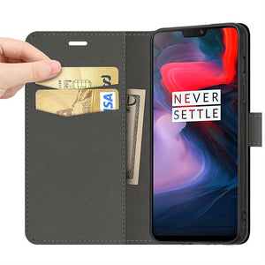 Best OnePlus 6 Leather Case - Free Next Day Delivery