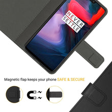 Load image into Gallery viewer, OnePlus 6 Leather Case
