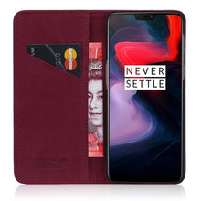 Load image into Gallery viewer, Best OnePlus 6 Premium Leather Case - Free Next Day Delivery