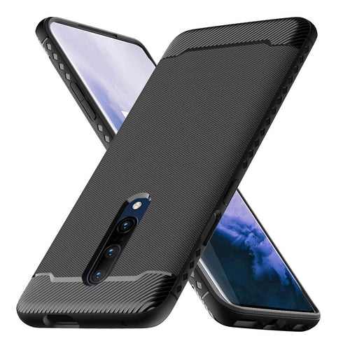 Best OnePlus 7 Pro Carbon Fiber Case - Free Next Day Delivery