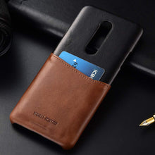Load image into Gallery viewer, Best OnePlus 7 Pro Card Leather Case - Free Next Day Delivery
