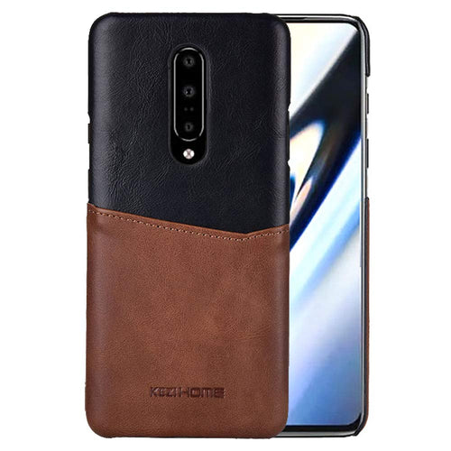 Best OnePlus 7 Pro Card Leather Case - Free Next Day Delivery