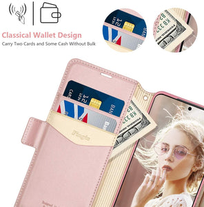 Samsung S20 Case Rose Wallet