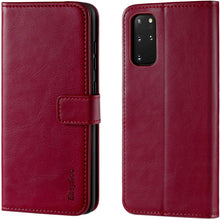 Load image into Gallery viewer, Samsung S20 Plus Case Leather Wallet
