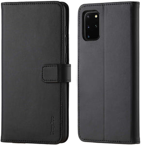 Samsung S20 Plus Case Leather Wallet