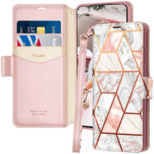 Load image into Gallery viewer, Samsung S20 Plus Case Rose Leather