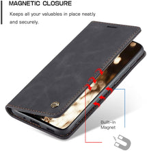 Load image into Gallery viewer, Samsung S20 Ultra Case Leather Flip