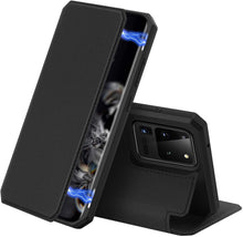 Load image into Gallery viewer, Samsung S20 Ultra Case Leather Magnetic
