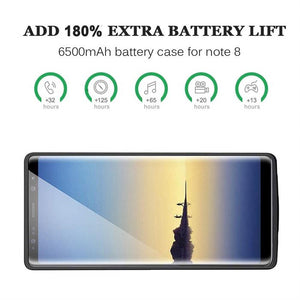 Best Samsung Note 8 Battery Case - Free Next Day Delivery