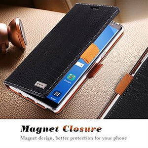 Best Samsung Note 8 Magnet Leather Case - Free Next Day Delivery