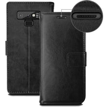 Load image into Gallery viewer, Best Samsung Note 9 Leather Wallet Case - Free Next Day Delivery