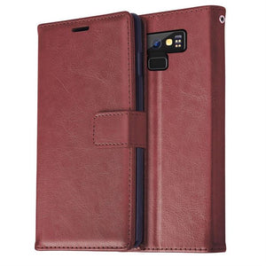 Best Samsung Note 9 Leather Wallet Case - Free Next Day Delivery