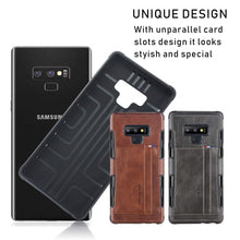 Load image into Gallery viewer, Best Samsung Note 9 Shockproof Card Holder Case - Free Next Day Delivery
