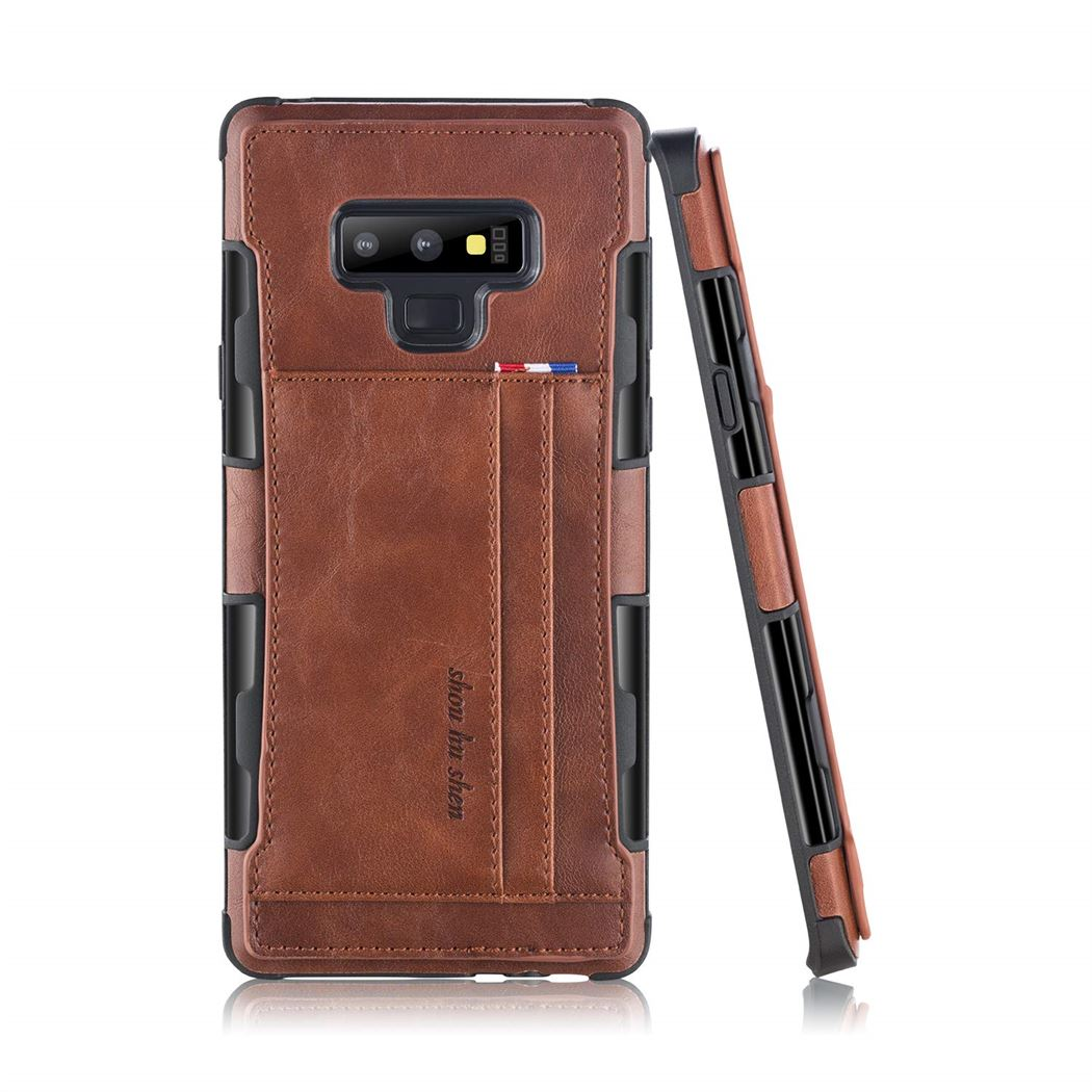 Best Samsung Note 9 Shockproof Card Holder Case - Free Next Day Delivery