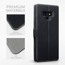 Load image into Gallery viewer, Samsung Note 9 Vintage Leather Case
