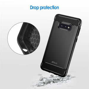 Best Samsung S10E Carbon Fiber Case - Free Next Day Delivery