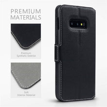 Load image into Gallery viewer, Best Samsung S10E Leather Wallet Case - Free Next Day Delivery