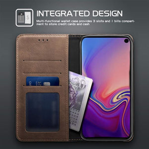 Best Samsung S10E Premium Leather Case - Free Next Day Delivery
