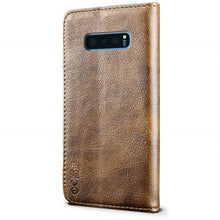 Load image into Gallery viewer, Best Samsung S10E Premium Leather Case - Free Next Day Delivery