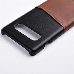 Best Samsung S10 Genuine Leather Case - Free Next Day Delivery