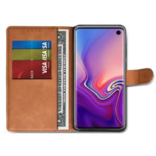 Load image into Gallery viewer, Best Samsung S10 Leather Wallet Case - Free Next Day Delivery