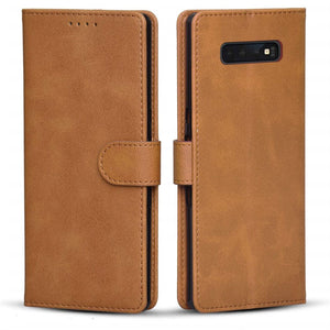 Best Samsung S10 Leather Wallet Case - Free Next Day Delivery