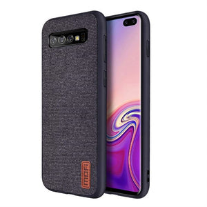 Best Samsung S10 Plus Cotton Cloth Case - Free Next Day Delivery