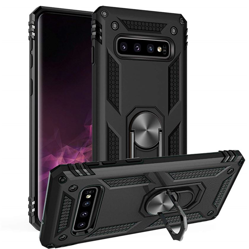 Best Samsung S10 Plus Kickstand Hybrid Case - Free Next Day Delivery