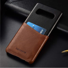 Load image into Gallery viewer, Best Samsung S10 Plus Leather Wallet Case - Free Next Day Delivery