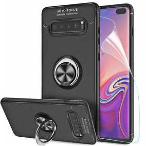 Best Samsung S10 Plus Metal Ring Case - Free Next Day Delivery