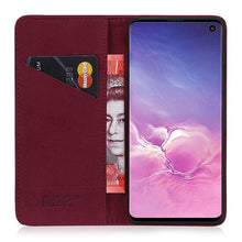 Load image into Gallery viewer, Samsung S10 Slim Leather Case