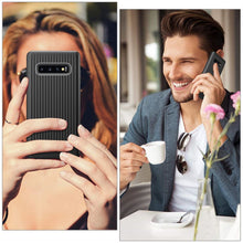 Load image into Gallery viewer, Best Samsung S10 Thin Carbon Fiber Case - Free Next Day Delivery