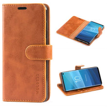 Load image into Gallery viewer, Samsung S10 Ultra Thin Leather Case