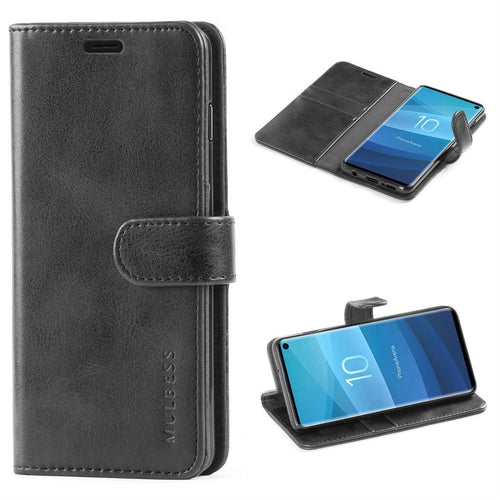 Best Samsung S10 Ultra Thin Leather Case - Free Next Day Delivery