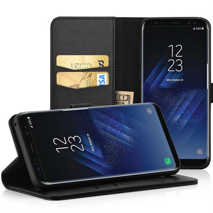 Best Samsung S8 Leather Case - Free Next Day Delivery