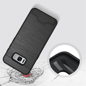 Samsung S8 Plus Hidden Card Holder Case