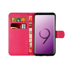 Load image into Gallery viewer, Samsung S9 Leather Case