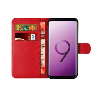 Samsung S9 Leather Case