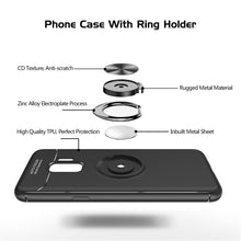 Load image into Gallery viewer, Samsung S9 Magnet Ring Black Case