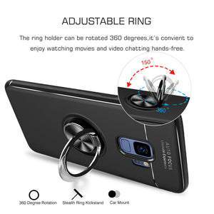 Samsung S9 Magnet Ring Black Case