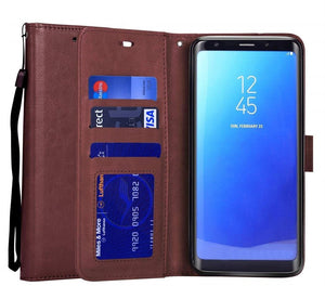 Samsung S9 Plus Classic Leather Case